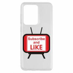 Чохол для Samsung S20 Ultra Subscribe and like youtube
