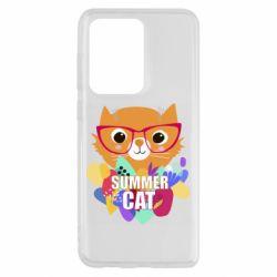 Чохол для Samsung S20 Ultra Summer cat