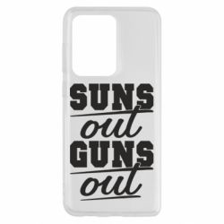 Чехол для Samsung S20 Ultra Suns out guns out