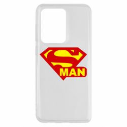 Чохол для Samsung S20 Ultra Super Man