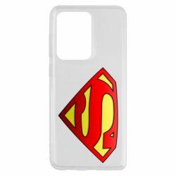 Чехол для Samsung S20 Ultra Superman Logo