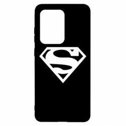 Чехол для Samsung S20 Ultra Superman одноцветный