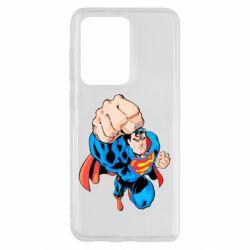 Чохол для Samsung S20 Ultra Супермен Комікс