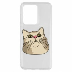 Чехол для Samsung S20 Ultra Surprised cat