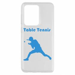 Чехол для Samsung S20 Ultra Table Tennis Logo