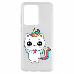 Чохол для Samsung S20 Ultra The cat is unicorn