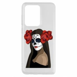 Чохол для Samsung S20 Ultra The girl in the image of the day of the dead