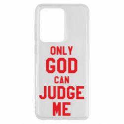 Чохол для Samsung S20 Ultra Тільки Бог може судити мене