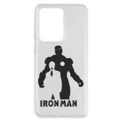 Чехол для Samsung S20 Ultra Tony iron man