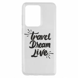 Чехол для Samsung S20 Ultra Travel Dream Live