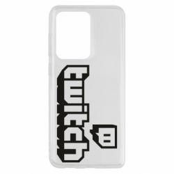 Чохол для Samsung S20 Ultra Twitch logotip