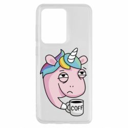 Чохол для Samsung S20 Ultra Unicorn and coffee