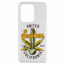 Чохол для Samsung S20 Ultra United smokers st relax California