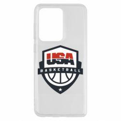 Чохол для Samsung S20 Ultra USA basketball