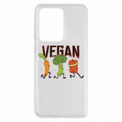 Чохол для Samsung S20 Ultra Веган овочі