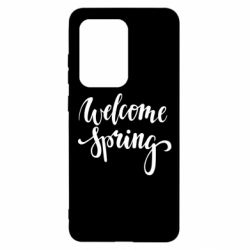 Чохол для Samsung S20 Ultra Welcome spring