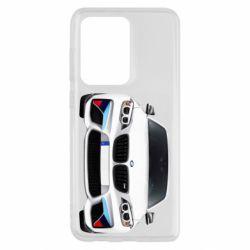 Чохол для Samsung S20 Ultra White bmw
