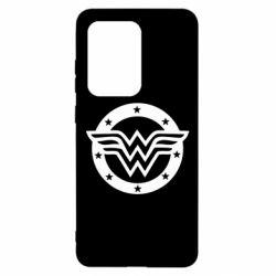 Чохол для Samsung S20 Ultra Wonder woman logo and stars