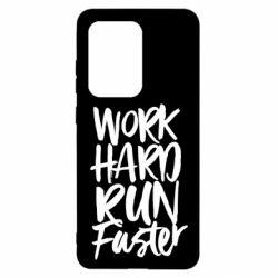 Чохол для Samsung S20 Ultra Work hard run faster