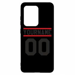 Чохол для Samsung S20 Ultra Yourname USA
