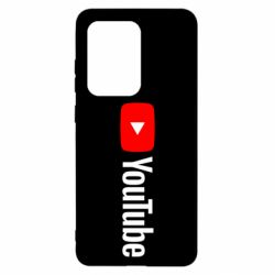 Чехол для Samsung S20 Ultra Youtube logotype