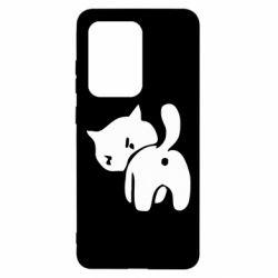 Чохол для Samsung S20 Ultra злий коте