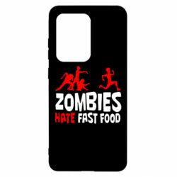 Чохол для Samsung S20 Ultra Zombies hate fast food