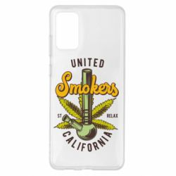 Чохол для Samsung S20+ United smokers st relax California