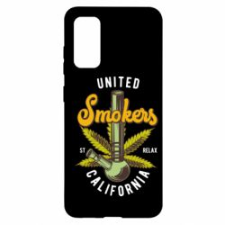 Чохол для Samsung S20 United smokers st relax California