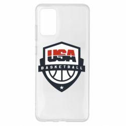 Чохол для Samsung S20+ USA basketball