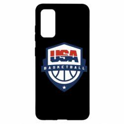 Чохол для Samsung S20 USA basketball