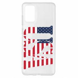 Чохол для Samsung S20+ USA