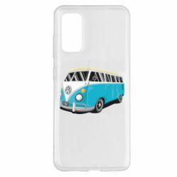 Чехол для Samsung S20 Vector Volkswagen Bus