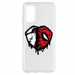 Чохол для Samsung S20 Venom and spiderman