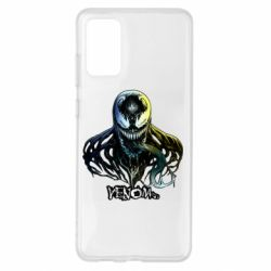 Чехол для Samsung S20+ Venom Bust Art