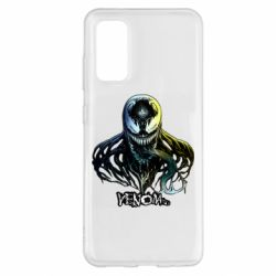 Чехол для Samsung S20 Venom Bust Art