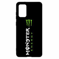 Чохол для Samsung S20+ Вертикальний Monster Energy