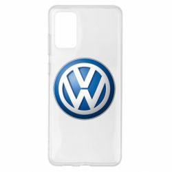 Чохол для Samsung S20+ Volkswagen 3D Logo
