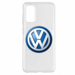 Чохол для Samsung S20 Volkswagen 3D Logo