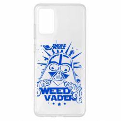 Чехол для Samsung S20+ Weed Vader