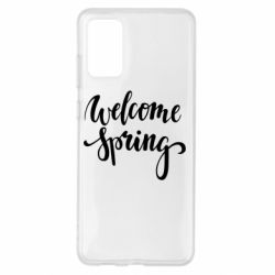 Чохол для Samsung S20+ Welcome spring