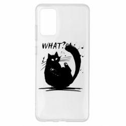 Чохол для Samsung S20+ What cat
