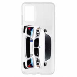 Чохол для Samsung S20+ White bmw