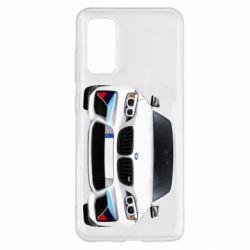 Чохол для Samsung S20 White bmw