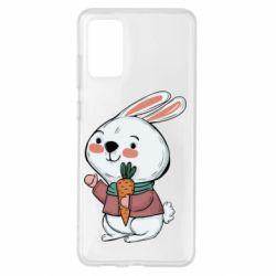 Чохол для Samsung S20+ Winter bunny