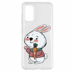 Чохол для Samsung S20 Winter bunny
