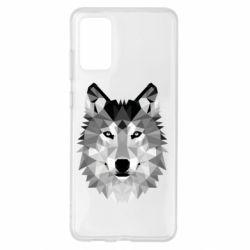 Чохол для Samsung S20+ Wolf Art