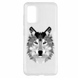 Чохол для Samsung S20 Wolf Art