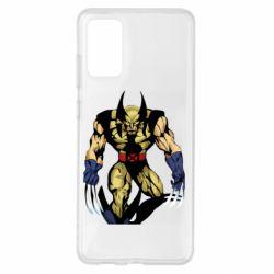 Чохол для Samsung S20+ Wolverine comics