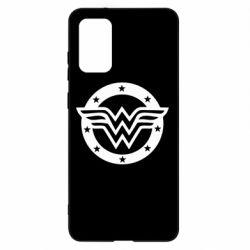 Чохол для Samsung S20+ Wonder woman logo and stars